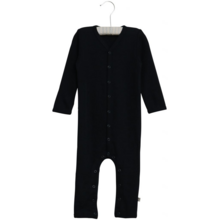 Wheat-wool-uld-plain-jumpsuit-heldragt-navy-blaa-blue