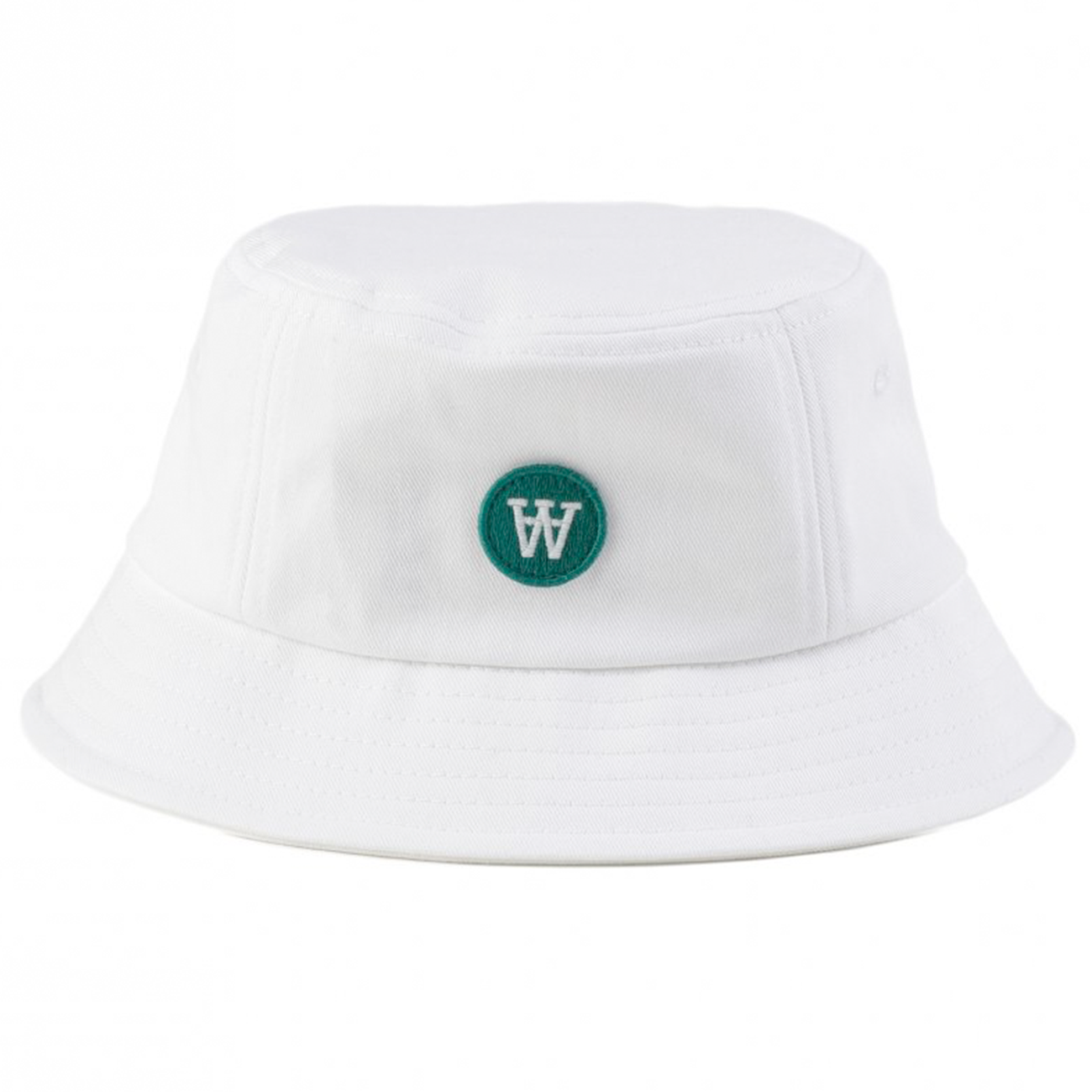 Wood-wood-val-bucket-hat-white-hvid 64e2a7740036