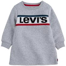 levis-sweatshirt-dress-kjole-grey-heather-graa-girl-pige-baby