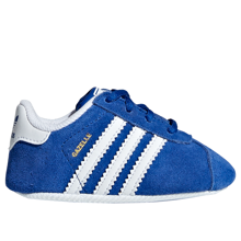 adidas Baby Gazelle Crib Sneakers Collegiate Navy/White
