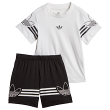 adidas Outline Tee Set White/Black