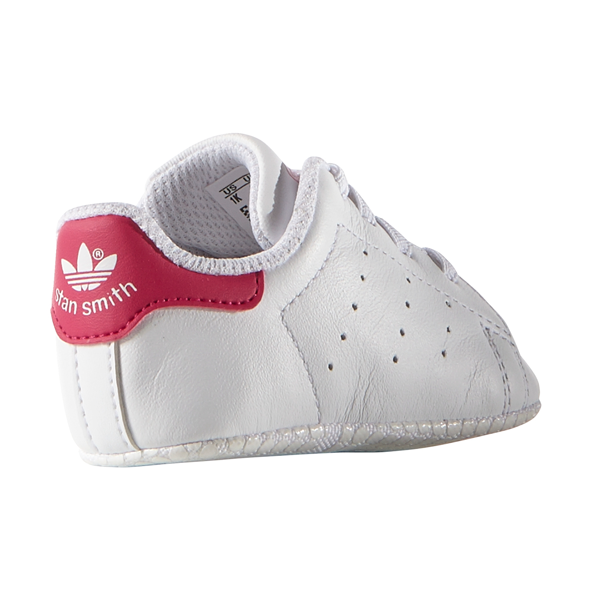 the latest a2134 1d4bd adidas Baby Stan Smith Sneakers White/Pink S82618
