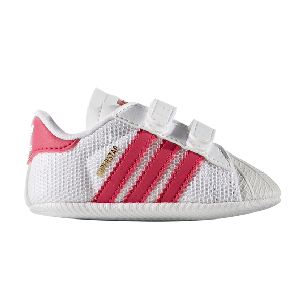 huge discount 60f16 9f5cf adidas Baby Superstar Sneakers White Pink