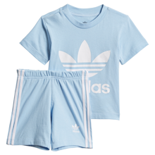adidas Short Tee Set Clesky/White