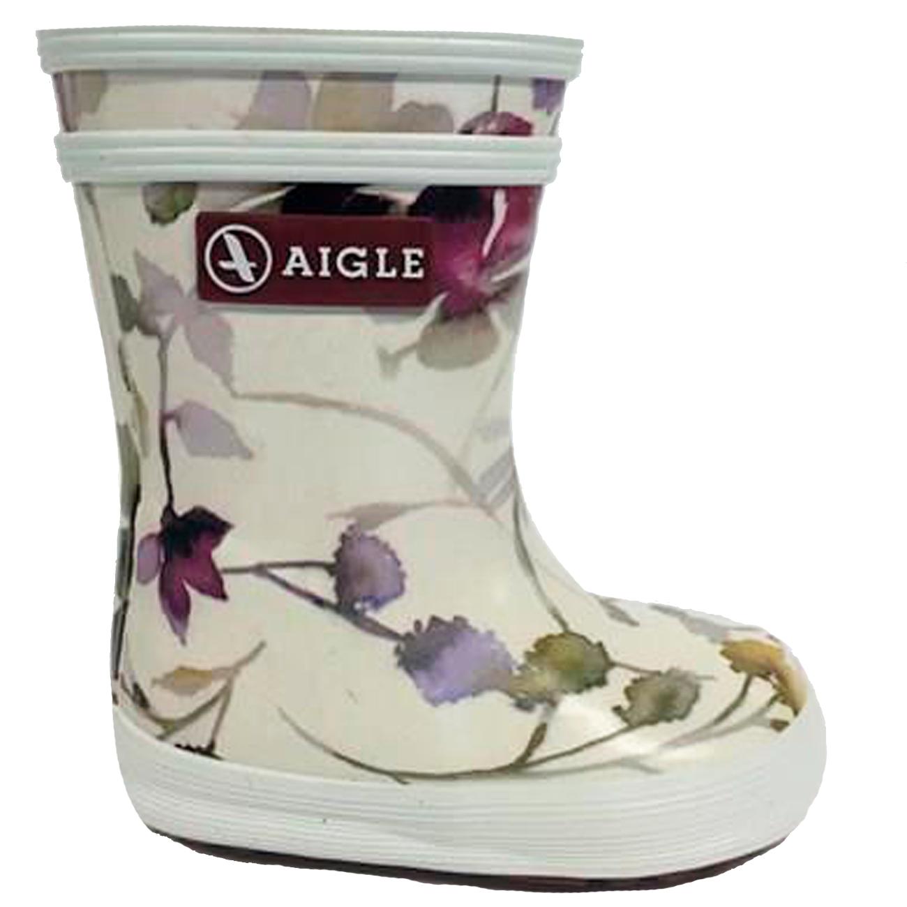 d7a3a8be8cf Aigle Baby Flac Gummistøvler Wildflower