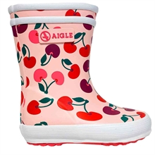 aigle-gummistoevler-rubber-boots-cherry-baby-flac
