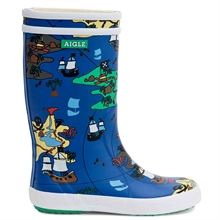 aigle-gummistoevler-rubber-boots-trasure-map-lolly-pop-2