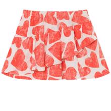 Bobo Choses All Over Hearts Skirt