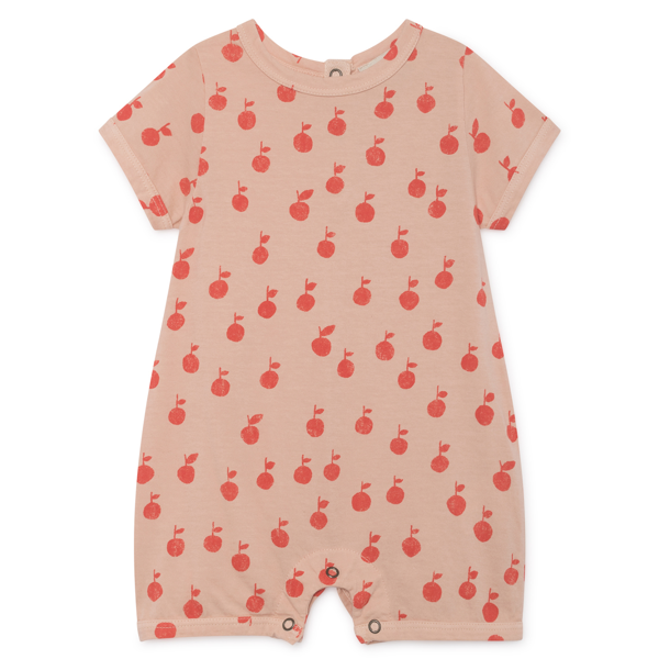 Bobo Choses Apples Playsuit Rose Dust