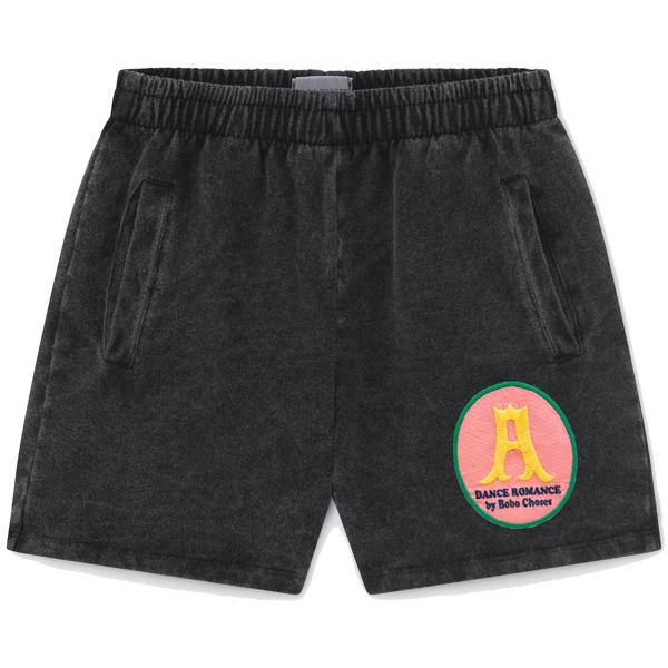 bobo-choses-dark-grey-shorts