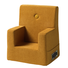 By KlipKlap KK Kids Chair Mustard w. Mustard Buttons