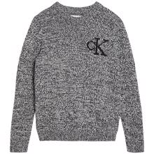 calvin-klein-ck-monogram-sweater-strik-knit-black-sort-ib0ib00620-beh-1