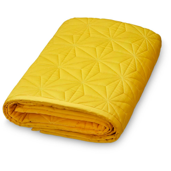 camcam-quilted-blanket-baby-taeppe-mustard-gul-yellow