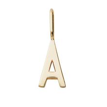design-letters-charm-vedhaeng-gold-plated-silver-A