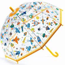djeco-paraply-rummet-space-umbrella