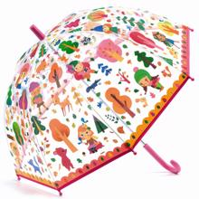 djeco-paraply-skoven-the-wood-umbrella