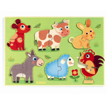 djeco-puslespil-puzzle-animals-dyr-meadow-halloej-paa-engen