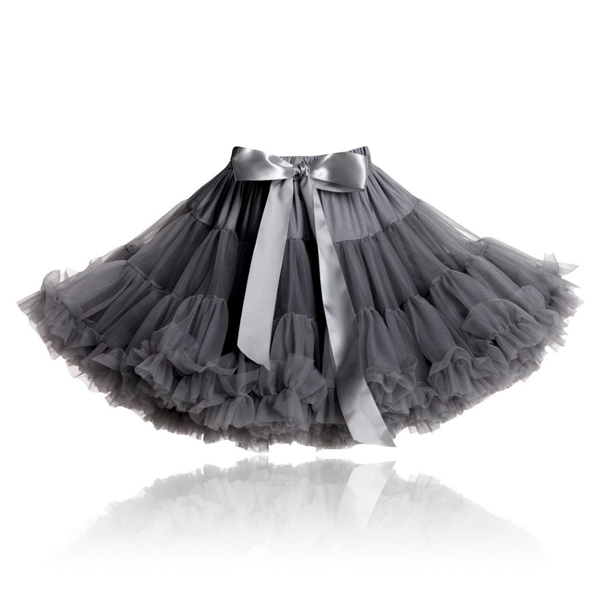 Dolly by Le Petit Tom Skirt Dark Grey