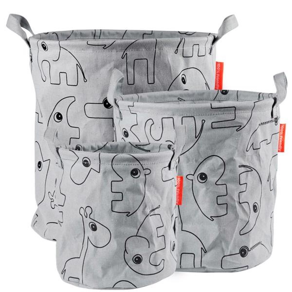 done-by-deer-storage-baskets-opbevaringskurv-opbevaring-kurv-grey-graa-5093485