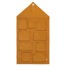 ferm-living-house-wall-storagewall-opbevaring-mustard-gul-yellow