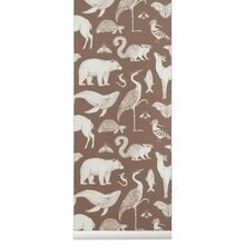 ferm-living-katie-scott-wallpaper-toffee-brown-brun
