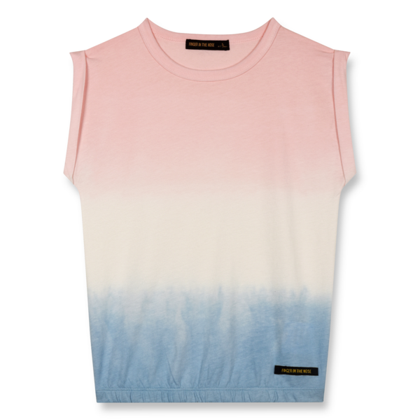 Finger In The Nose Barrington Tie & Dye Knitted Sleeveless T-shirt Multicolor