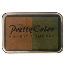 goki-stempelpude-stamps-brown-armygreen-brun-army