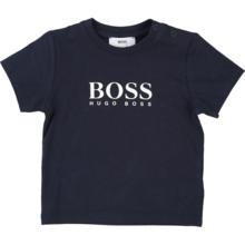 08c7dfb3948 Hugo Boss Baby Boy Short Sleeves Logo T-Shirt Navy