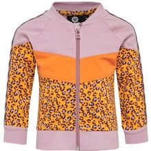 hummel-SS20-cardigan-zip-jakke-sweat-leo-leopard-veronica-zip-golden-rod