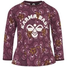 hummel-moana-bluse-blouse-rosewater-lille-blomsterprint-flowers