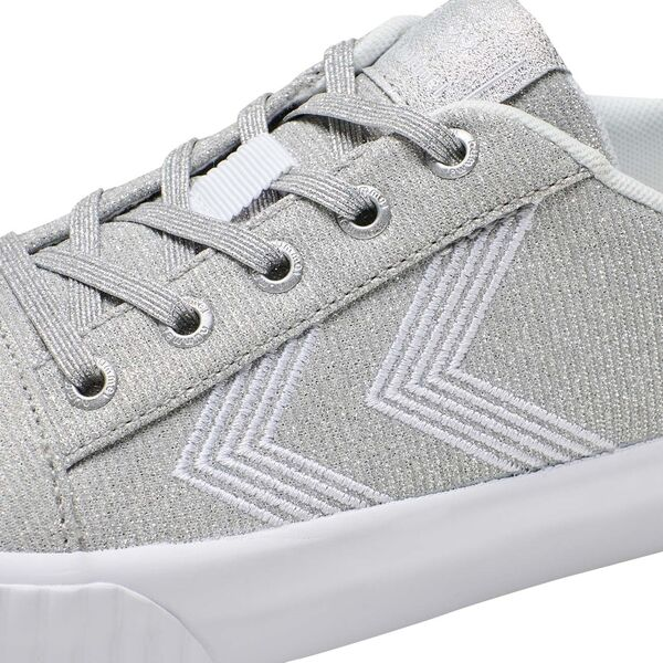 Hummel Base Court Glitter Jr Sneakers Silver