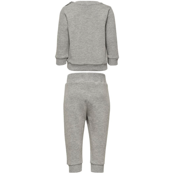 Hummel Santo Crew Suit Grey Melange