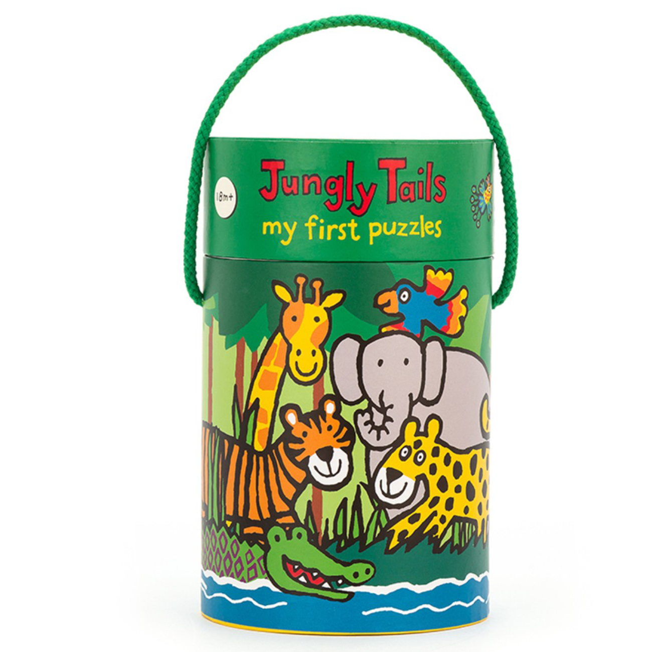 Jellycat Puzzle Jungly Tails