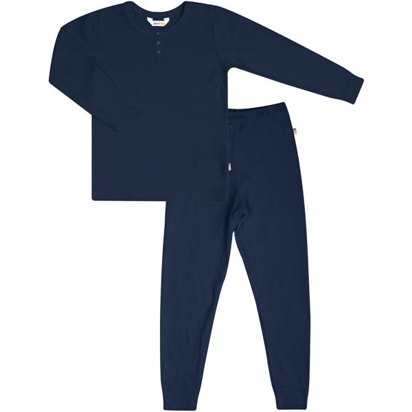 Joha Bambus Mørk Blå Pyjamas