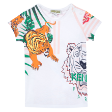 Kenzo Faustine Tee Shirt Optic White