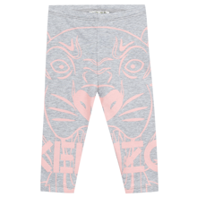 Kenzo Tiger Leggings Marl Grey