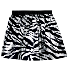 kenzo-party-fest-nederdel-skirt-tiger-sort-black-lurex-soelv-silver