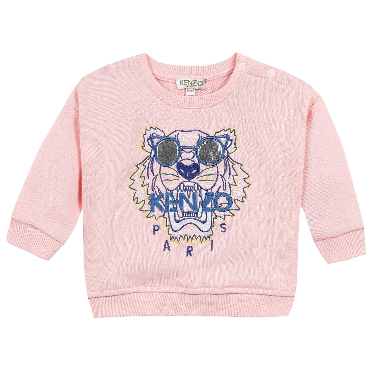 cad0f146 Kenzo Tiger Sweatshirt Middle Pink