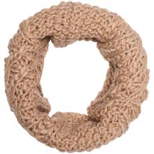 kids-only-Isabella-knit-strik-cable-tube-halsterklaede-scarf-girl-pige-cuban-sand