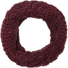 kids-only-Isabella-knit-strik-cable-tube-halsterklaede-scarf-girl-pige-pomegranate