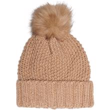 kids-only-isabella-knit-strik-pom-pom-beanie-hue-Cuban-sand-girl-pige