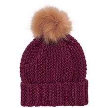 kids-only-isabella-knit-strik-pom-pom-beanie-hue-pomegranate-girl-pige