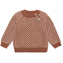 Konges Sløjd Meomi Sweater Uld Folk Strik Toffee