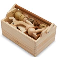 konges-sloejd-leg-play-wood-trae-tool-box-tools-vaerktoej-multi