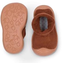konges-sloejd-sock-slippers-almond-brown-brown