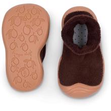 konges-sloejd-sock-slippers-mocca-brown-brown