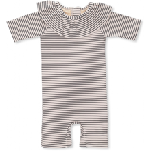 Konges Sløjd Soleil Striped Navy/Nature Girls UV Heldragt