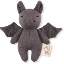kongessloejd-konge-sloejd-legetoej-bamse-mini-bat-grey-graa-mini-1