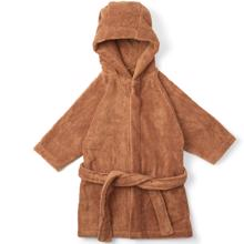 ks1432-konges-sloejd-kids-terry-bathrobe-badekaabe-beige-tan