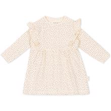 konges-slojd-hygsoft-dress-kjole-tiny-clover-beige-girl-pige